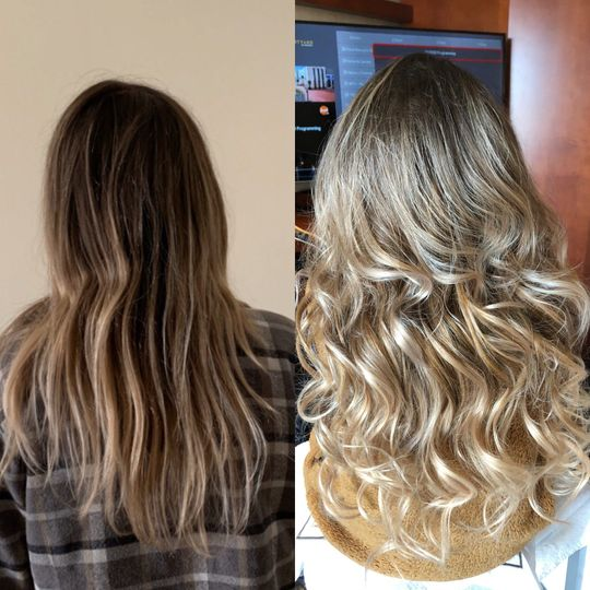 Before and after with extensions
