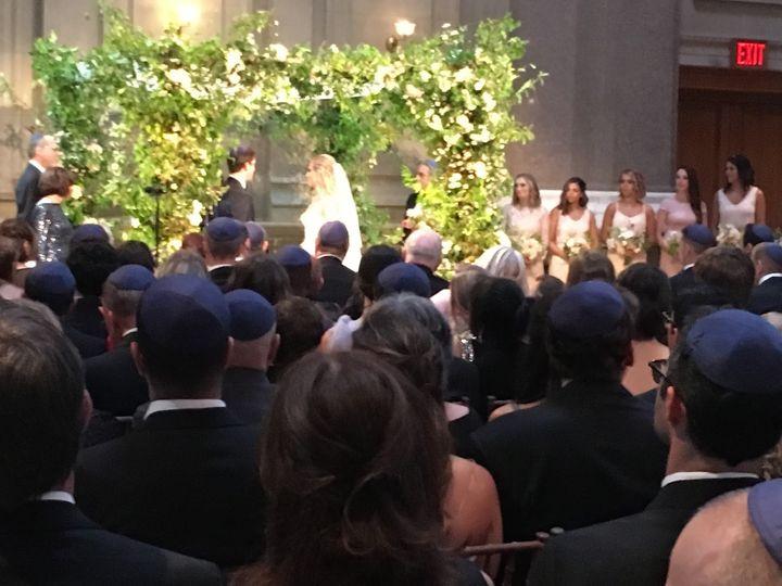 Bank wedding