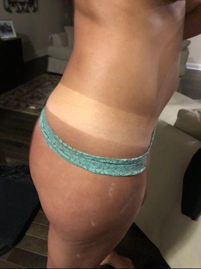 Custom sunless spray