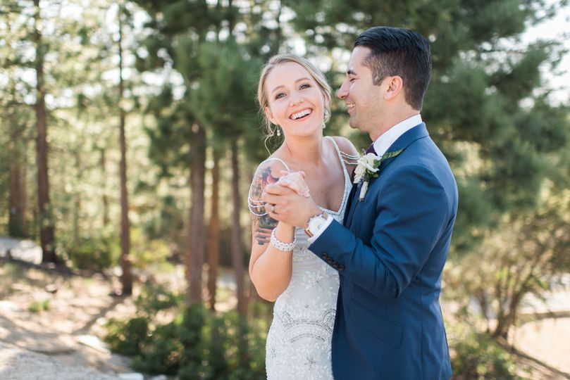 Big Bear Lake  Intimate Cabin Wedding