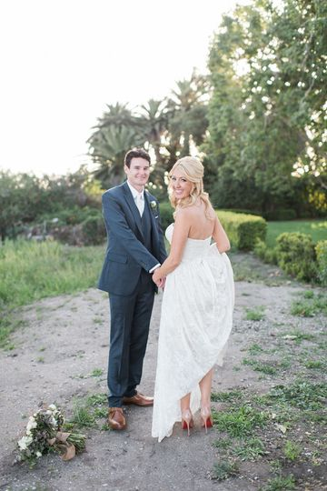 Adamson House Malibu Wedding
