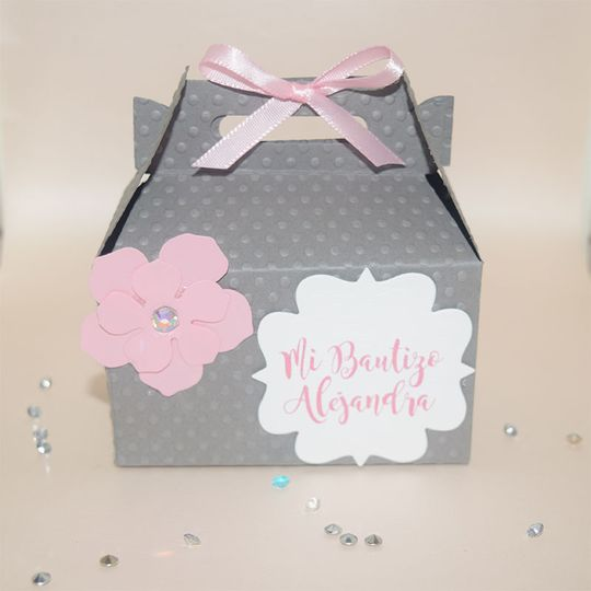 Candy box personalized