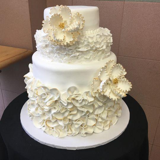 Sal And Doms Wedding Cake
