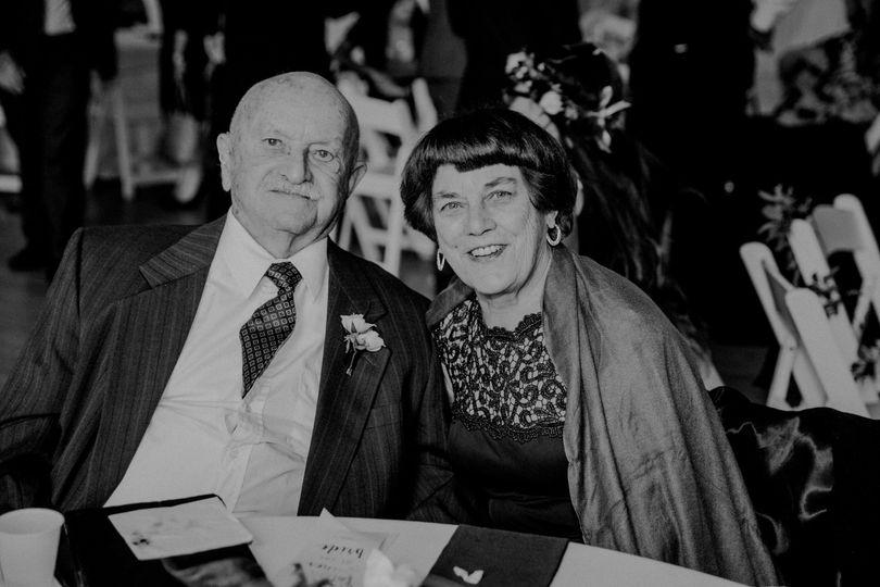 Grandparents of the bride