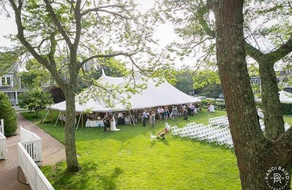Tmx Ceremony And Tent On Lawn 51 10049 Edgartown, Massachusetts wedding venue
