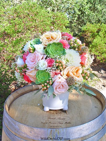 800x800 1426288742668 garden rose succulent ceremony wedding flowers par