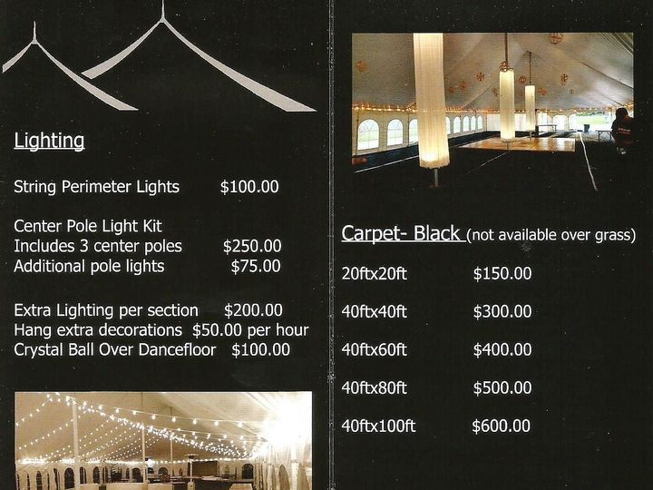 Tmx Tent Prices 2 2 51 560049 Eagle River, WI wedding rental