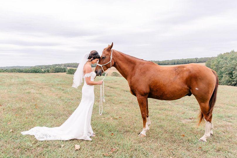The Bride and her bestie.