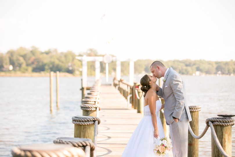 Our pier offers the perfect backdrop for your photos