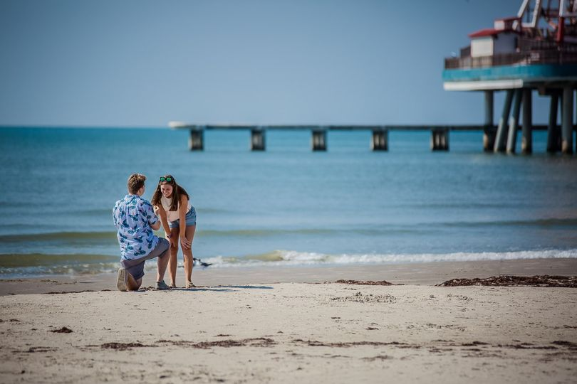 Galveston, Texas. Engagement