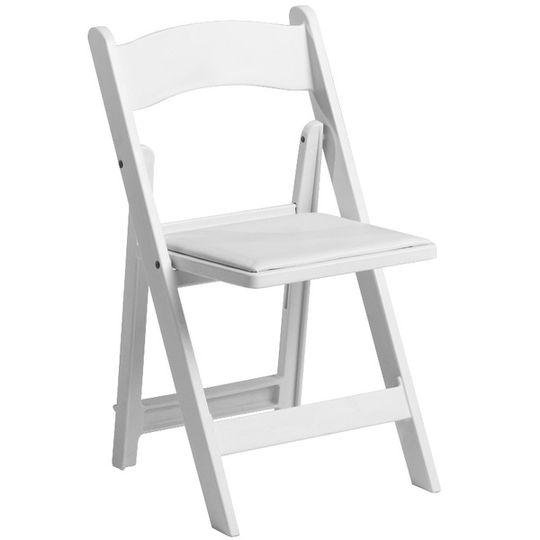 White Cushion Chair