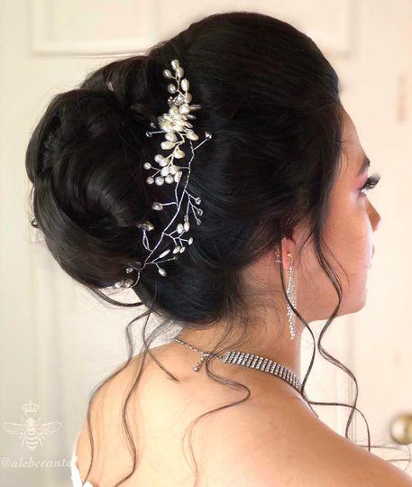 High Bridal Updo