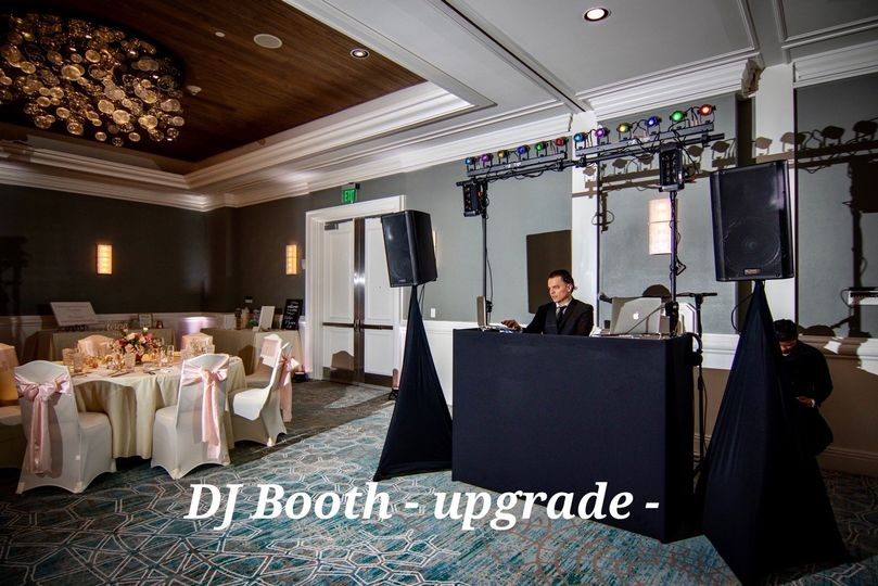 DJ Booth Upgrade available