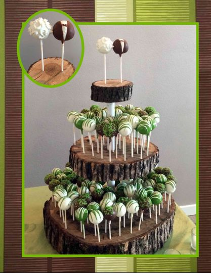 cake pop wedding image
