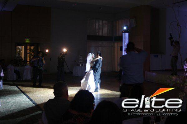 First Dance Spotlight