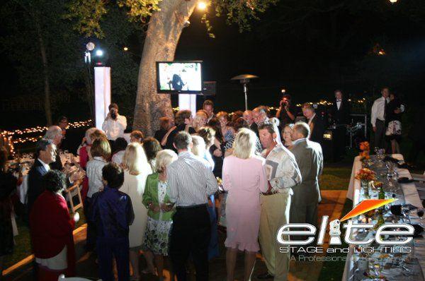 Live Montage on LCD Screen - Temecula Creek Inn
