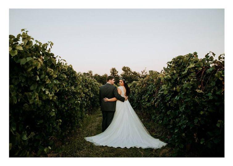 Couple in Vineyards