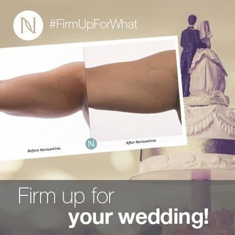 NeriumFirm will get you ready for the happiest day of your life.  This breakthrough formula will...