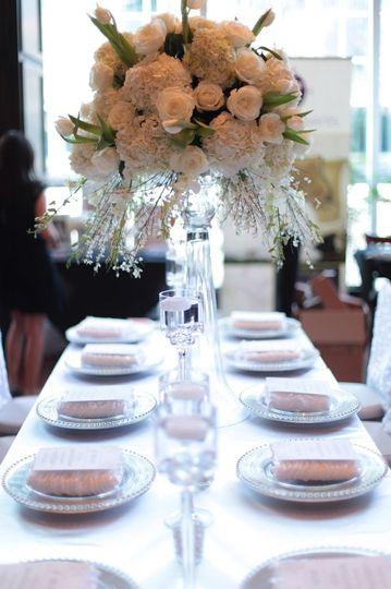lakeside wedding table 2