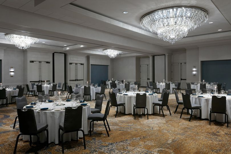 Newly renovated ballroom space
