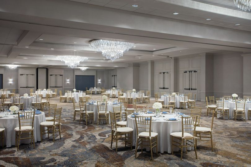 Our newly renovated ballroom