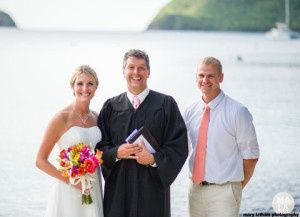 st thomas wedding officiant