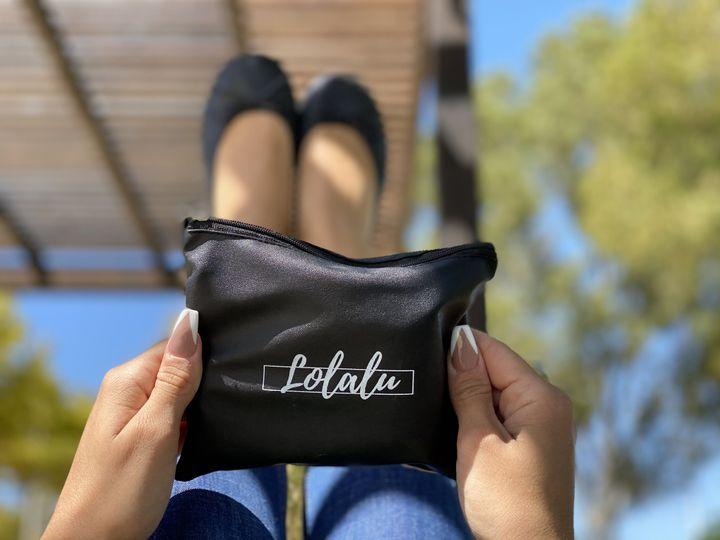 Foldable black ballet shoes