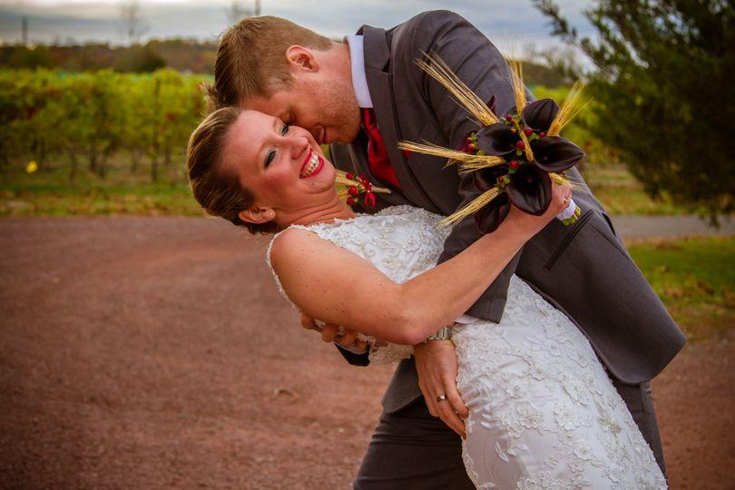 wedding hopewell vineyards nj 1810