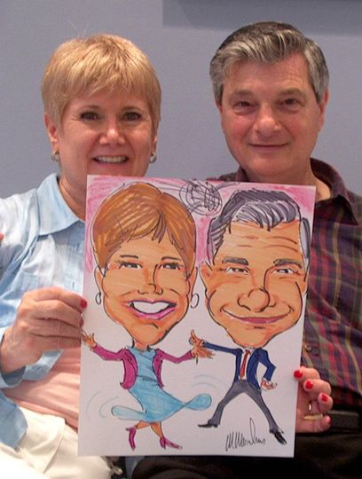 Engagement Party Caricatures