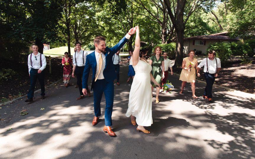 Pre Ceremony Stroll