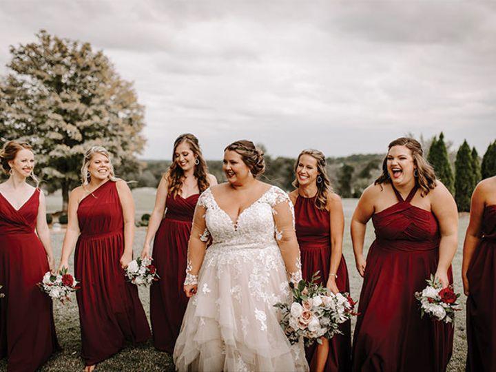 Tmx Sarah Wedding Bridesmaids Outside 51 611149 160046363763094 Conover, NC wedding venue