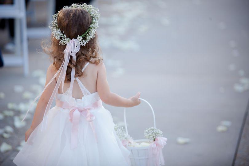 Wedding Flower-girl Ceremony