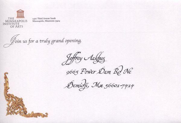 Tmx 1202356549181 Frenchroomcalligraphy2 Minneapolis wedding invitation