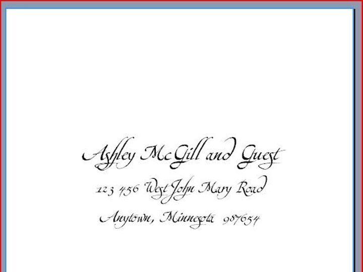 Tmx 1220491804529 Ashley2 Minneapolis wedding invitation
