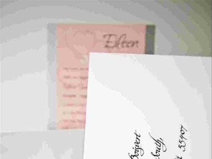 Tmx 1256894578415 IMG2313 Minneapolis wedding invitation