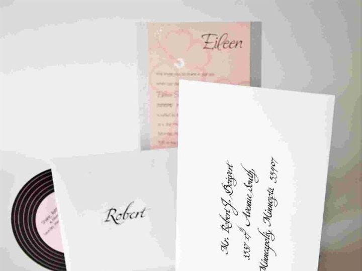 Tmx 1256894604336 IMG2312 Minneapolis wedding invitation