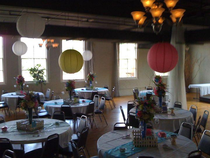Reception decor