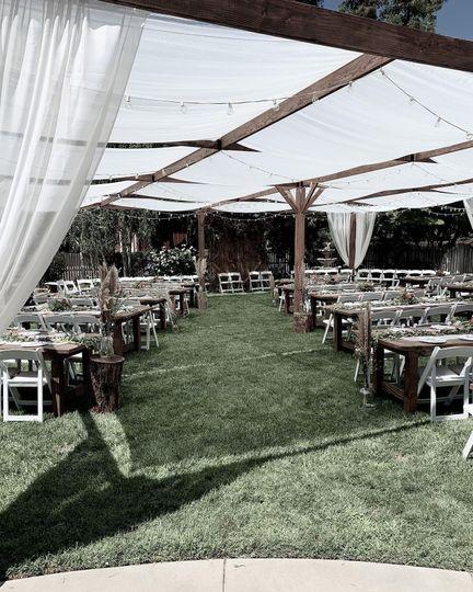 Farmhouse Tables  - Wedding