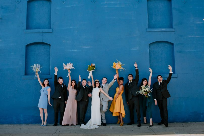 sharon and adam downtown los angeles arts district wedding millwick venue eve rox photography 478 51 783149