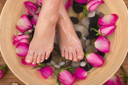 rosefootbath