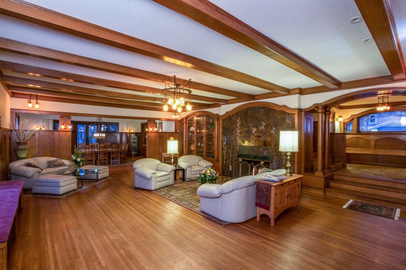 An open concept floorplan that offers both elegance and flow
