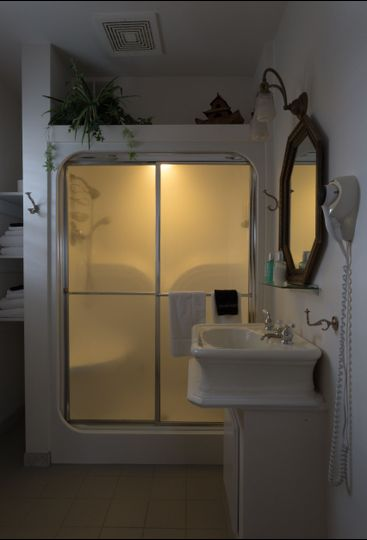 A steam shower to heat the senses