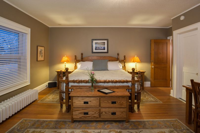 Large historic master suite with contemporary feel and state of the art technology