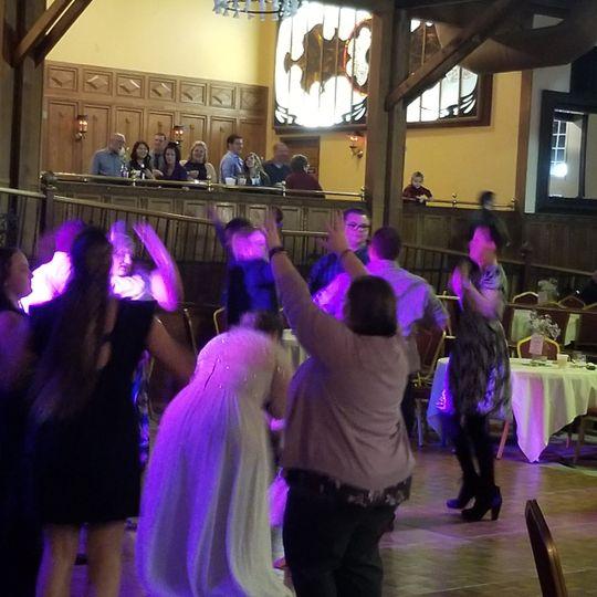 A great wedding in Stillwater