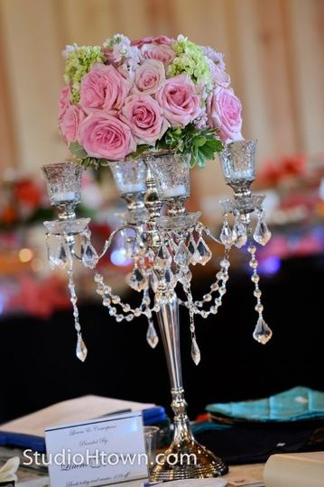 Centerpiece and floral design