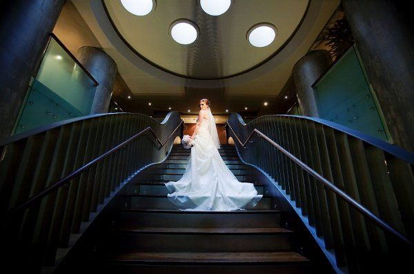 Grand staircase that is perfect for a one of a kind picture