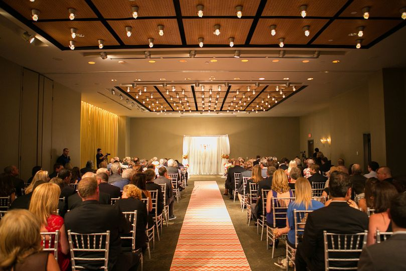 Ceremony in the Magnolia Ballroom