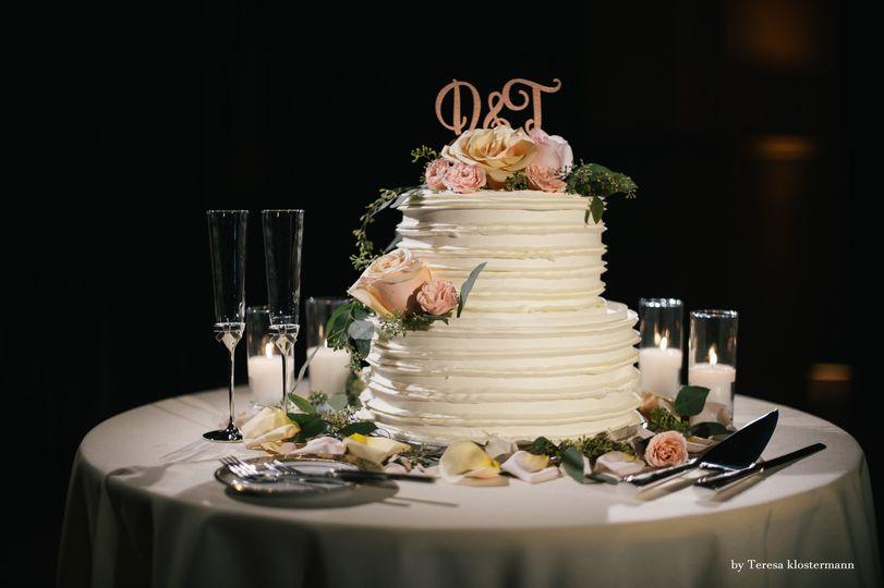 Cake take decoration
