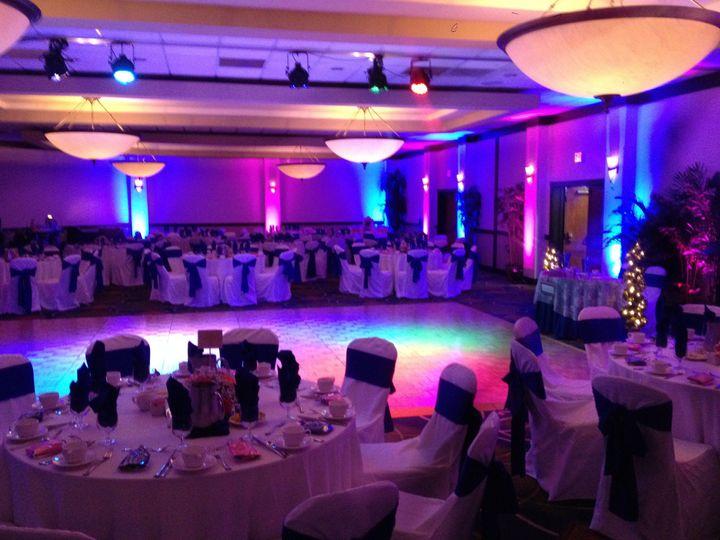 Tmx 1427378620743 Crown Plaza Uplighting 6 Fort Myers, FL wedding dj
