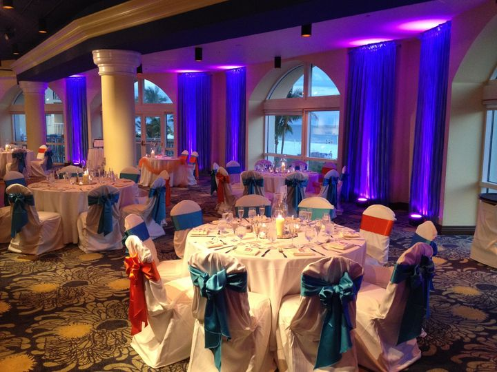 Tmx 1452720158273 Pink Shell Uplighting 5 2 Fort Myers, FL wedding dj